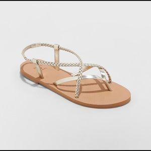 Shade & Shore Cami Braided Sandals